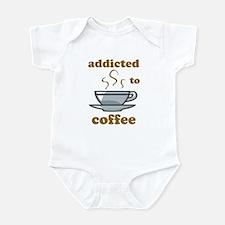 Addicted To Coffee Infant Bodysuit
