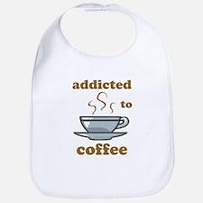 Addicted To Coffee Bib