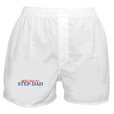 World's Greatest Step-Dad II Boxer Shorts
