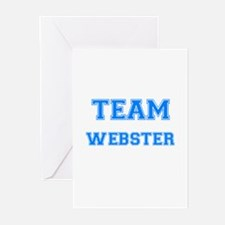 TEAM WEBSTER Greeting Cards (Pk of 10)