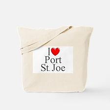 """I Love Port St. Joe"" Tote Bag"