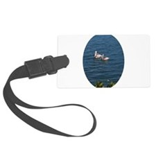 TWO PELICANS Luggage Tag