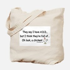 ADD Chicken Tote Bag