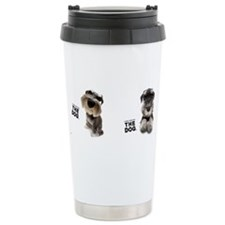 Unique Dogs are friends Travel Mug