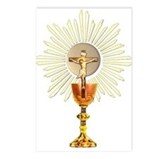 Holy Eucharist Postcards (Package of 8)