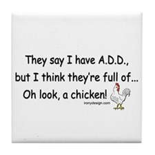 ADD Chicken Tile Coaster