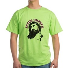 Jesus Shaves (even down there) T-Shirt