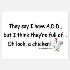 ADD Chicken Invitations