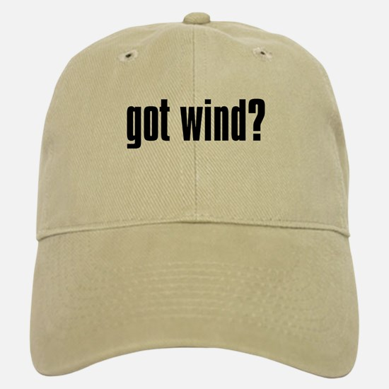 got wind? Baseball Baseball Cap