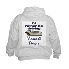 Monorail Purple Hoodie