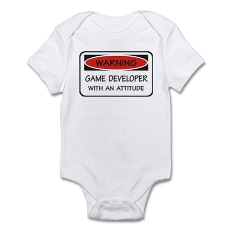 Attitude Game Developer Infant Bodysuit