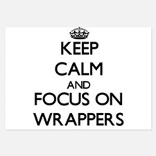 Keep Calm by focusing on Wrappers Invitations