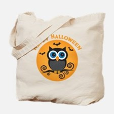 Happy Halloween Owl Tote Bag