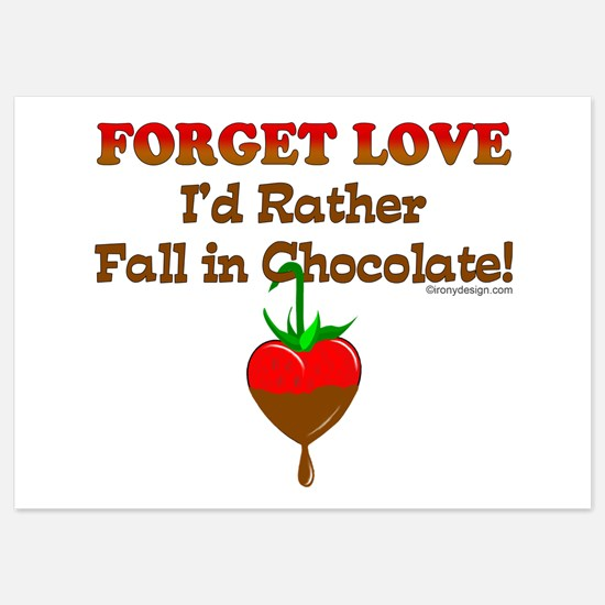 Chocolate Lovers Invitations