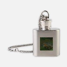 MEAN FOX Flask Necklace