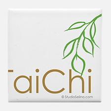 Tai Chi Growth 12 Tile Coaster