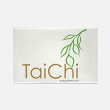 Tai Chi Growth 12 Rectangle Magnet