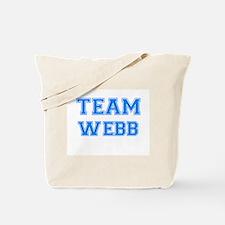TEAM WEBB Tote Bag