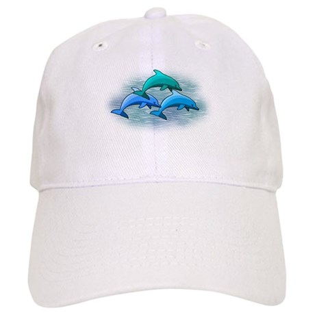 Jumping dolphins Cap