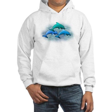 Jumping dolphins Hooded Sweatshirt