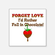 Chocolate Lovers Rectangle Sticker