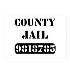 Jail Inmate Number 9818783 Postcards (Package of 8