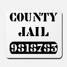 Jail Inmate Number 9818783 Mousepad