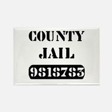 Jail Inmate Number 9818783 Rectangle Magnet