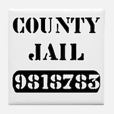 Jail Inmate Number 9818783 Tile Coaster