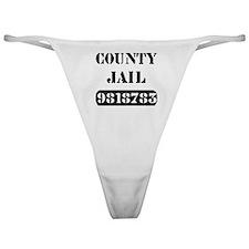 Jail Inmate Number 9818783 Classic Thong