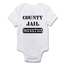Jail Inmate Number 9818783 Infant Bodysuit