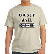 Jail Inmate Number 9818783 T-Shirt