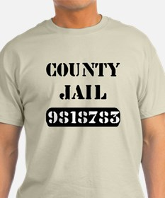 Jail Inmate Number 9818783 T-Shirt