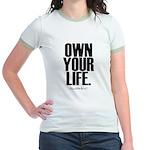 Own Your Life Jr. Ringer T-Shirt