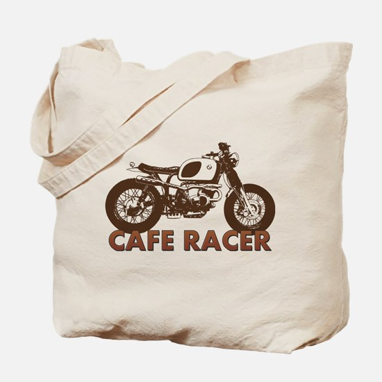 Cute Cafe racer Tote Bag
