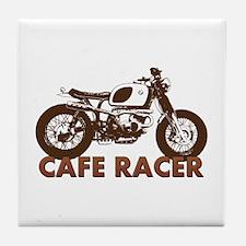 Unique Cafe racer Tile Coaster