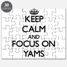 Keep Calm by focusing on Yams Puzzle
