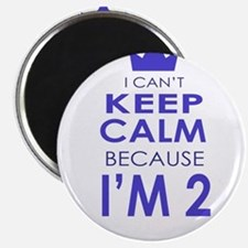 I Cant Keep Calm because Im 2 Magnets