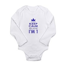 I cant keep calm because Im one Body Suit