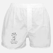 50th birthday nose picker Boxer Shorts