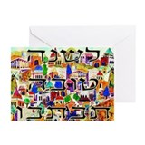 Rosh hashanah Greeting Cards (10 Pack)