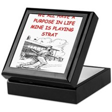 strat baseball Keepsake Box