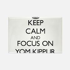 Keep Calm by focusing on Yom Kippur Magnets