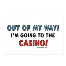 Casino Lovers Postcards (Package of 8)