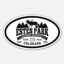 Estes Park Vintage Decal