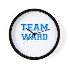 TEAM WARD Wall Clock