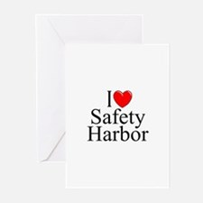 """I Love Safety Harbor"" Greeting Cards (Package of"