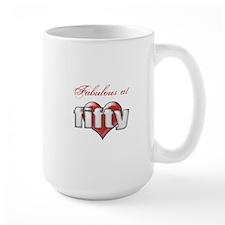 Fabulous 50th Birthday Mugs