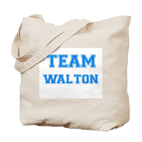 TEAM WALTON Tote Bag