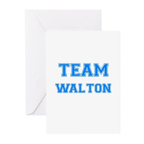 TEAM WALTON Greeting Cards (Pk of 10)